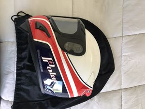 Polaris Retro look snowmobile helmet - brand new, never used, helmet bag included. for Sale in Hermosa Beach, CA