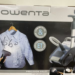 Rowenta Precision Valet Garment Steamer GS6020, Blue for Sale in Hacienda Heights, CA