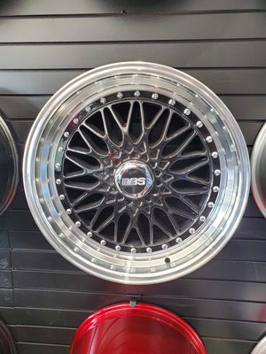 """20"""" staggered black BBS styles wheels fits BMW toyota nissan Infiniti v6 mustang v6 camaro 5x120 and 5x114 wheels tire rim shop for Sale in Tempe, AZ"""