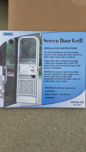 Camco Screen Door Deluxe Grille for Sale in Durham, NC
