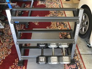Dumbbell's Rack 3 tiers for Sale in Tracy, CA