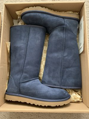 Classis Tall Uggs (Navy) for Sale in Leesburg, VA