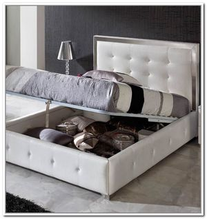 Queen storage bed frame for Sale in Yonkers, NY
