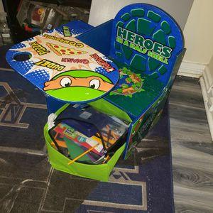 Small Child Desk Ninja Turtle for Sale in Washington, DC