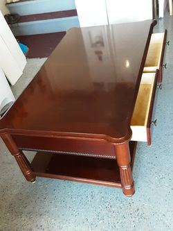 Solid Cherry Wood Coffee Table for Sale in Murfreesboro,  TN