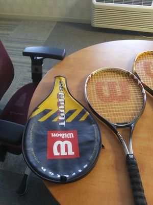 3 tennis rackets for Sale in Greenwood, IN