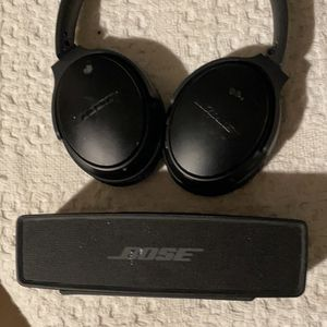Bose Speaker And Headphones Both Bluetooth for Sale in Mesa, AZ