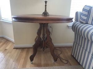 Oak Accent Table for Sale in Alexandria, VA