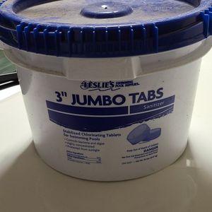 "Leslie's 3"" Jumbo Tabs (Pool) for Sale in Phoenix, AZ"