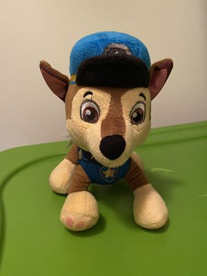 Chase paw patrol plush for Sale in Canton, GA
