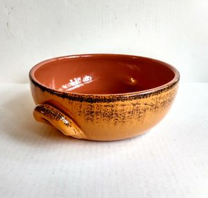 Glazed Double Handled Terracotta Bowl for Sale in Raleigh, NC