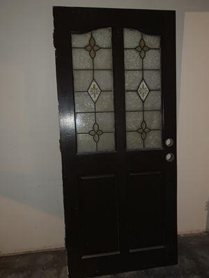 ANTIQUE FRONT WOOD DOOR for Sale in Wilmington, CA