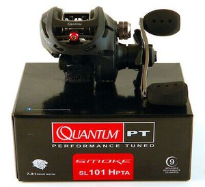 New Quantum Smoke SL101 HPTA 7:3.1 GR Left Hand baitcaster fishing reel baitcast for Sale in Litchfield Park, AZ