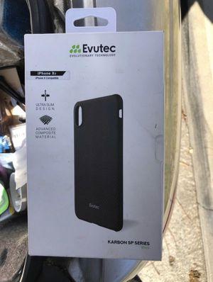 iPhone carbon fiber XS & X phone case for Sale in La Mirada, CA
