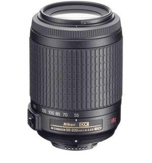 Nikon Nikkor Lens AF-S DX VR Zoom Nikkor 55-200mm for Sale in Corvallis, OR
