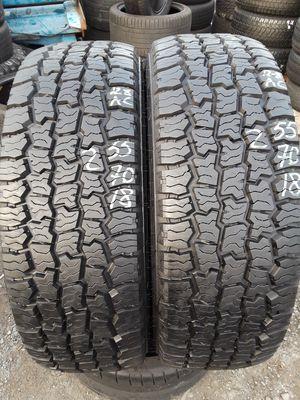 255/70-18 #2 tires for Sale in Alexandria, VA