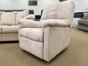 NEW! Ashley Darcy Rocker Recliner in Stone Color for Sale in Clayton, NC