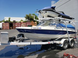Speed Boat With Double Deck Trailer (Jetski Not Included) for Sale in Irvine, CA