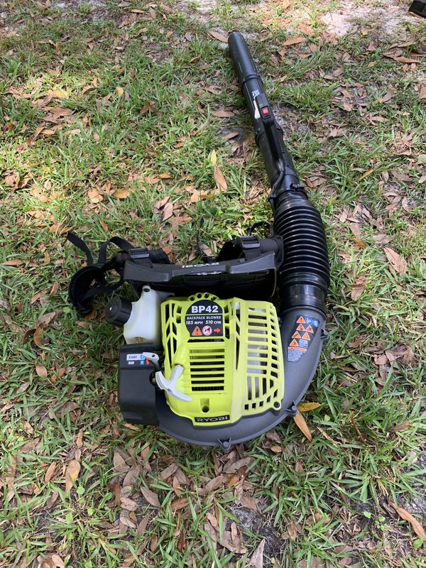Ryobi Backpack Blower For Sale In Tampa Fl Offerup