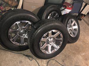 Used Bridgestone Tires With Rims / Usadas Bridgestone Llantas con Rines for Sale in Spring, TX