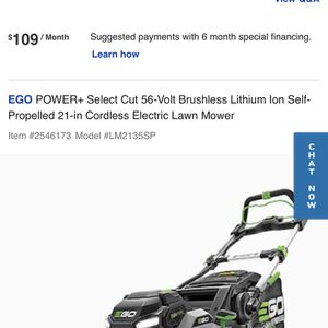 Electric lawnmower (EGO POWER +) for Sale in Gambrills, MD