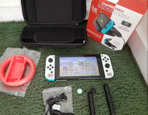 Nintendo switch with over 35 games for Sale in Santa Ana, CA