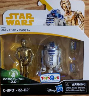 New Star Wars Force Link C3PO & R2D2 for Sale in Apopka, FL