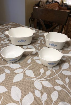 Vintage Corning Ware Blue Cornflower Set of 4 pieces for Sale in Miami, FL