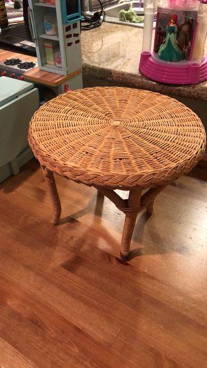 American Girl Samantha's Wicker Table for Sale in Orange, CA