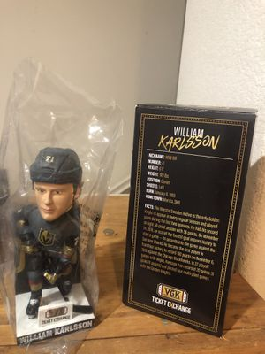 Bobble head Vegas strong William karlsson for Sale in Las Vegas, NV
