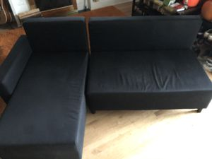 Black couch/bed for Sale in Milwaukie, OR