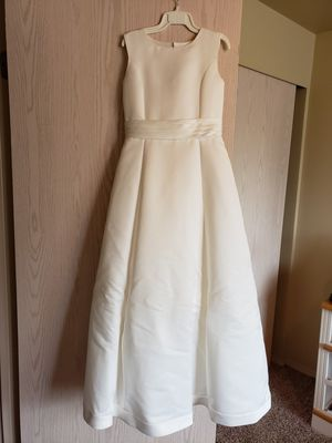 Child's size 12 Mon Cheri Ivory Flower Girl Dress for Sale in Richland, WA