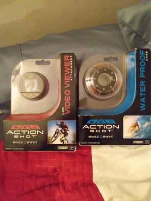 Action shot accessories! Video viewer + waterproof case for Sale in Corona, CA