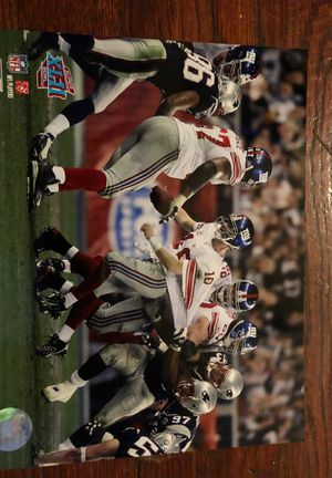"""Eli Manning New York Giants """"The Escape"""" Super Bowl XLII 8X10 Photo File for Sale in Columbus, OH"""
