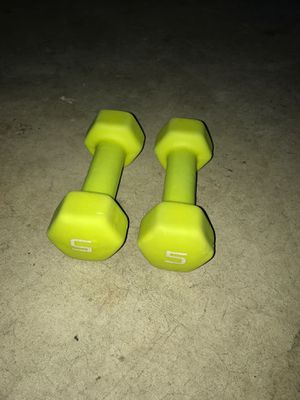 5 pound weights for Sale in Nashville, TN