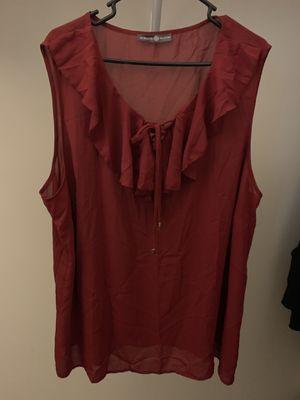 Burgundy blouse for Sale in Phoenix, AZ