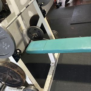 Home Gym Commercial Olympic Bench Press! Heavy Duty Rated 1,000 Lbs for Sale in Brick Township, NJ