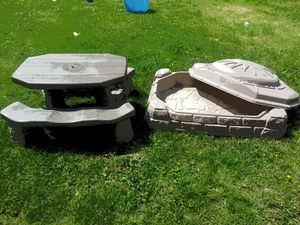 Kids Table and Sand Box for Sale in Graham, WA