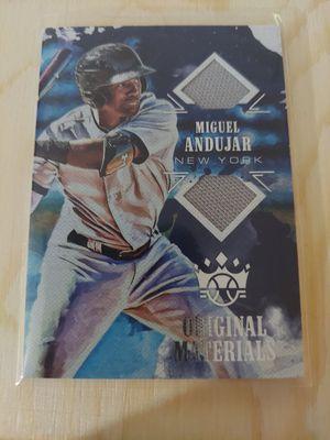 '18 Miguel Andujar DK Original Materials Card for Sale in Whittier, CA