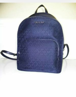$298 New MICHAEL KORS CONNIE MD BACKPACK BLACK Signature for Sale in Florissant, MO
