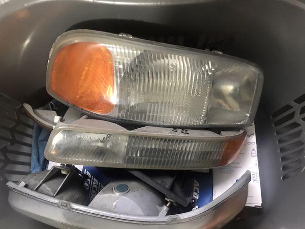 2004 GMC truck headlights turn signals