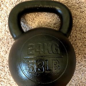Rogue fitness 53lb kettlebell for Sale in Seattle, WA