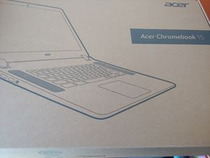 """New Acer Chromebook 15.6"""" - still factory sealed!! for Sale in Apex, NC"""