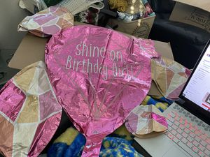 New Anagram Shine On Birthday Girl Jumbo Foil Balloon! for Sale in Pittsburg, CA