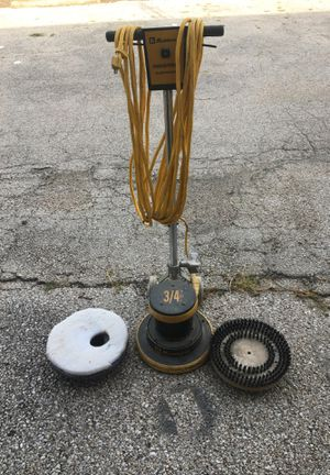 Koblenz DP-1334 175rpm 3/ 4Hp 13in Floor Machine [DP-1334] w/pad holder, white pad, and 1 brush for Sale in Austin, TX