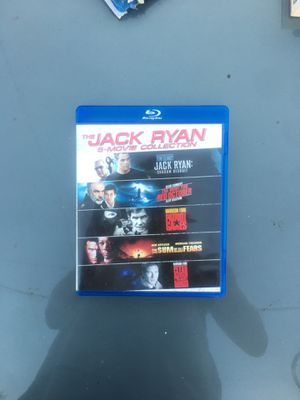 Jack Ryan 5-Movie Collection [Blu-ray] for Sale in Lawndale, CA