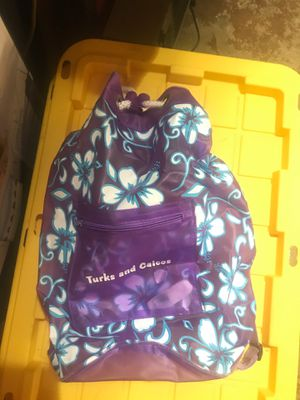 Purple Turks and Caicos Beach bag for Sale in La Habra Heights, CA