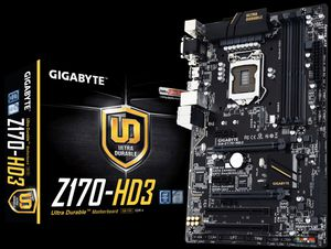 Gigabyte Z-170 HD3 for Sale in Murfreesboro, TN