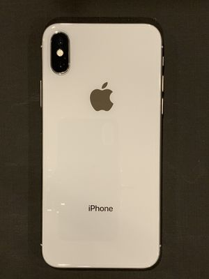 iPhone X 64GB Unlocked White for Sale in Chicago, IL