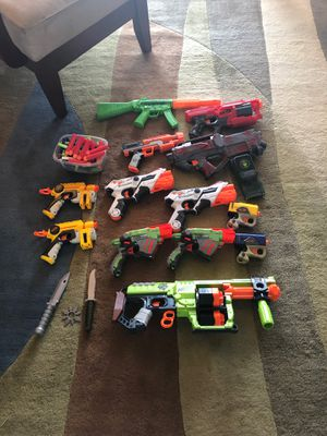 Nerf Gun Lot for Sale in Fort Lauderdale, FL